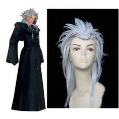 Cool Kingdom Hearts Organization XIII Xemnas Cosplay Wig
