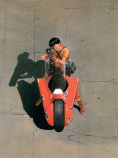 """Illustration by Katsuhiro Otomo (from the artbook """"Akira Club"""") Miyagi, Blue Exorcist, Manga Akira, Character Design References, Character Art, Inu Yasha, Katsuhiro Otomo, Non Plus Ultra, Arte Cyberpunk"""