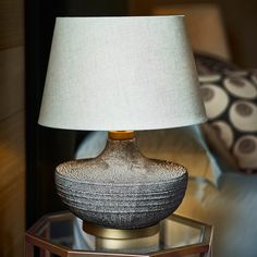 Mertensii Ceramic Table Lamp - Multi | OKA