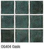 Oasis from Crossville's Origins Glass mosaic collection