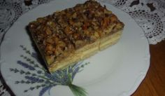 Medovo-orechové rezy