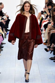 Chloé Fall 2012 Ready-to-Wear Fashion Show Collection