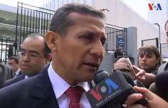 """Humala: """"Estamos satisfechos con las propuestas ecológicas"""""""
