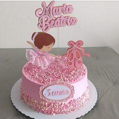 Ballet Birthday Cakes, Ballet Cakes, Birthday Cake For Cat, Beautiful Birthday Cakes, Ballerina Cakes, Ballerina Birthday, Birthday Cake Toppers, Wedding Cake Toppers, Ballerina Party Decorations