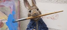 Sony Pictures Animation releases a modern day Peter Rabbit. The live-action/CGI animated film was inspired by Potter's stories of this mischievous rabbit. Peter Rabbit Movie, Jack Rabbit, Peter Hase Film, Rabbit Drawing, Beatrix Potter, Animation Film, Live Action, Bunny, Cartoon