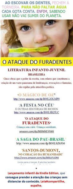 ATAQUE DO FURADENTES/Infância sem Cárie/   Welington Almeida Pinto. Gibi com texto p/ educar: amazon.com/dp/B00MXEYFWK