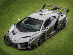 a Lamborghini Veneno