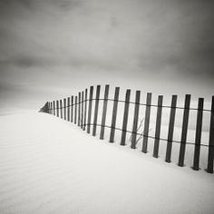 Dauphine Beach Fence-Alabama, USA - Joseph Hoflehner, 2007