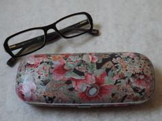 Decopatched Spectacle Case...and for my next project...