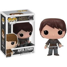 Funko POP Game of Thrones Arya Stark Vinyl Figure ($35) ❤ liked on Polyvore featuring game of thrones