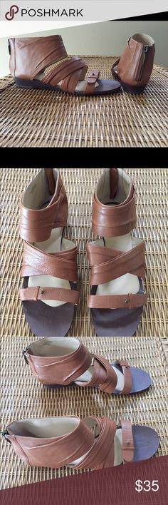 """Boutique 9 """"Gilla"""" Gladiator Sandals NEW New without tag gladiator sandals. Very soft leather in caramel color. 👗👚👜Check out the $6 section of my closet (before the sold items). Lots of bundle-worthy $6 items! 15% bundle discount on 2+ items in a bundle.🚫NO TRADES🚫 Boutique 9 Shoes Sandals"""