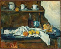 Paul Cézanne - The Buffet