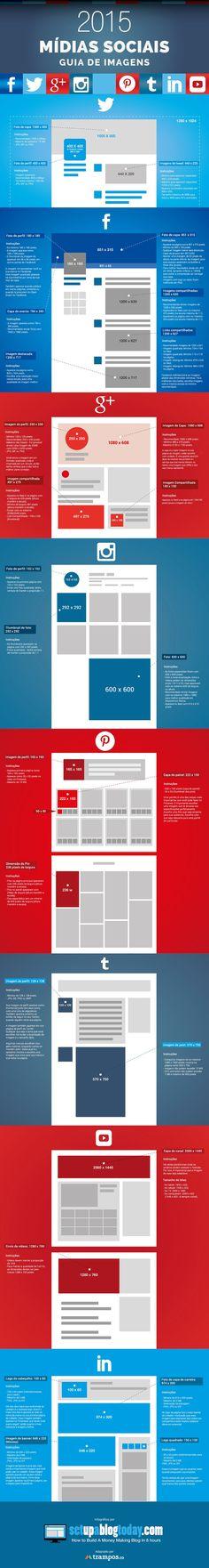 Otimize suas plataformas de mídias sociais usando imagens de tamanho certo. Este guia completo pode te ajudar a se destacar entre outras marcas.