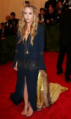 Mary-Kate Olsen in Vintage Chanel