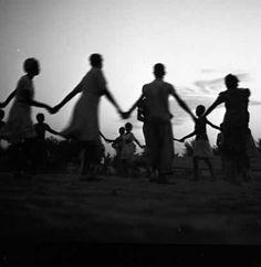 Black Archive : found children in ring shout, 1938 Saint Louis