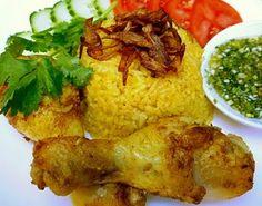 Khao Mak Gai (Southern Yellow Chicken Rice)