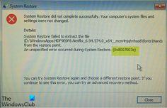 Fix System Restore error 0x8007007e on Windows 10 C Drive, System Restore, Windows Defender, Antivirus Software, Windows 10, Restoration, Audio, Android