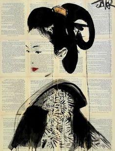 "Saatchi Art Artist Loui Jover; Drawing, ""itsumo"" #art"