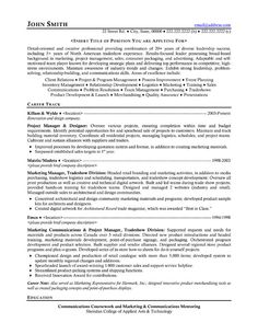 Resume Sample For Project Manager Unforgettable Technical Project Manager Resume Examples To Stand, It Project Manager Free Resume Samples Blue Sky Resumes, Project Manager Cv Template Construction Project Management Jobs,