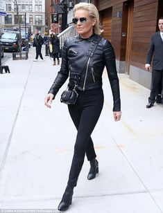 In mourning?On Wednesday, Yolanda Hadid stepped out in New York City donning an all-black ensemble after daughter Gigi Hadid called it quits with Zayn Malik