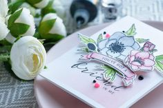 23 May 2017 | Yana Smakula | WPlus9 | Modern Anemones in Pink and White. You've got a friend in me |