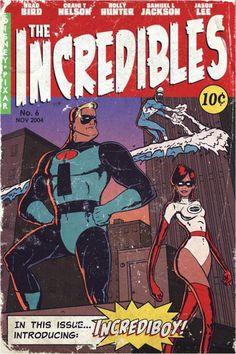 The Incredibles,pineado porJoshandTerra Collier