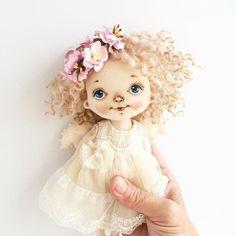 Прррривет всем! У меня неделя повторов и не только... Малышка улетела к своей мамочке. #куклысахаровойнатальи #ангел