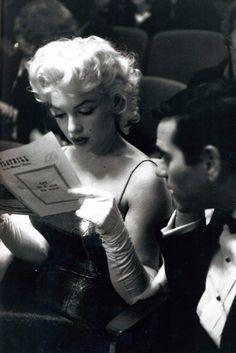 Marilyn Monroe, 1955. Photo: Ed Feingersh.