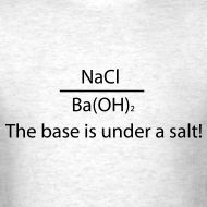 The base is under a salt!