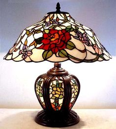 OH MY GOSH...I love this Mission Tiffany Lamp