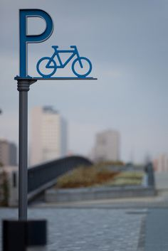 Beautiful bike parking. Click photo to enlarge and visit the Slow Ottawa 'Wayfinding' board for more smart urbanism.