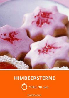 Himbeersterne - smarter - Zeit: 1 Std. 30 Min. | eatsmarter.de