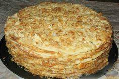 New recipes cake easy banana bread 69 ideas Russian Cakes, Russian Desserts, Russian Recipes, Russian Foods, Baking Recipes, Cake Recipes, Dessert Recipes, Napoleon Cake, Banana Dessert
