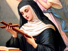 The life of St. Rita of Cascia, patron of impossible causes, including a prayer and novena for her intercession. Rita my Patron Saint right the heck now! Catholic Religion, Catholic Saints, Roman Catholic, Patron Saints, Oracion A Santa Rita, Sta Rita, St Rita Of Cascia, Santa Rita De Cascia, Saint Esprit