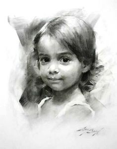 charcoal drawing, Casey Baugh - ramkrishna mahapatra - Google+