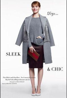 Harper's Bazaar UK oct 2013 - Sleek and Chic