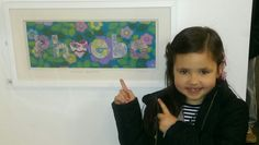 'Phoebe, Moon Princess, Bright and Pure', at The Brampton Museum. X