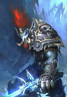 Death knight Troll