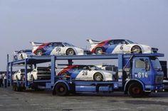 Transport unique BMW M1 Procar Racingcar