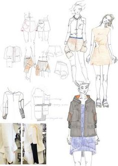 Fashion Sketchbook - fashion illustrations; fashion design process; fashion portfolio // Katie Percival