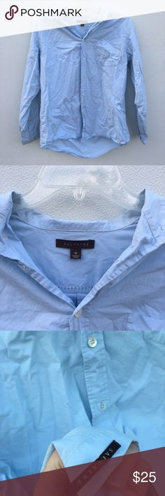 Saltire Light blue long sleeve Shirt Mens Meduim This saltire shirt comes in perfect condition coming in a size Medium. Saltire Tops Tees - Long Sleeve