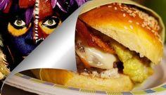 Hamburger al guacamole ''Eat'em and Smile'' / ''Eat'em and Smile'' Guacamole Hamburger