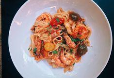 Fish & Seafood — Vanilla Scented Kisses Clam Pasta, Prawn Pasta, Tagliatelle Pasta, Spicy Prawns, Grilled Prawns, Seafood Recipes, Vegetarian Recipes, Garlic White Wine Sauce, Tuna Fish Cakes