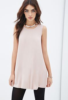 Jersey Trapeze Dress | FOREVER21 - 2000116631