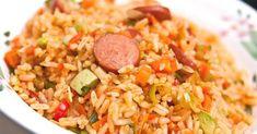 ¡Fácil y delicioso! Aprende a hacer un exquisito arroz con salchichas