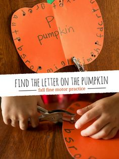 Fall is pumpkin time! Time for picking pumpkins, decorating pumpkins and just playing with pumpkins! Of course, its also time for pumpkin crafts as well, and you can learn with pumpkins too! I love this method of learning, I've used it several times, it just depends on the time of year. I've made an A …