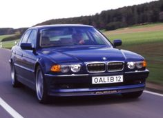 E38 Alpina B12 6.0 in Alpina Blue. This will become a classic. Get one now (2012) for around 10-15k