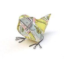 little paper birds.