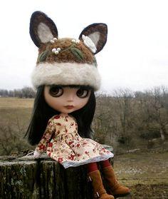 Crochet Blythe Fox Hat
