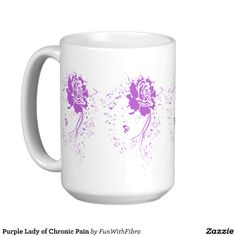 Purple Lady of Chronic Pain Coffee Mugs